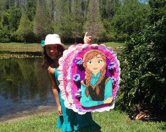 Frozen birthday piñata. Anna Frozen.   Party Decorations and Supplies