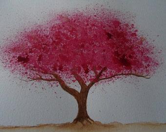 Cherry tree, Hand made