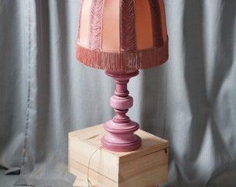 Large retro pink lamp