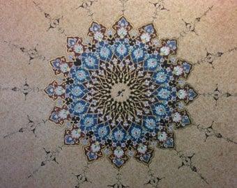 Persian illumination fine art print