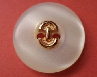 14 buttons white cream-white 18 mm (2067)