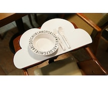 Silicone Cloud Placemat Dinnerware Table Mat Washable Portable Place Mat