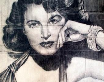 Ava Gardner Etsy
