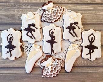 Ballet cookies- Half dozen