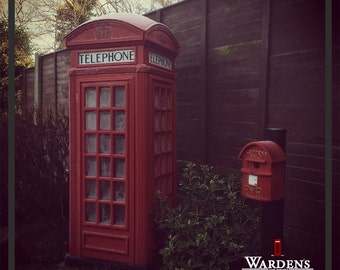 K2 London Red Telephone Box 1/2 Scale