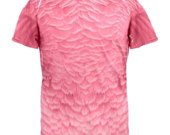 Halloween Flamingo Costume All Over Adult T-Shirt