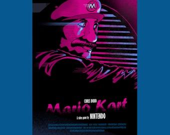 Mario Kart/Drive Poster Mash Up