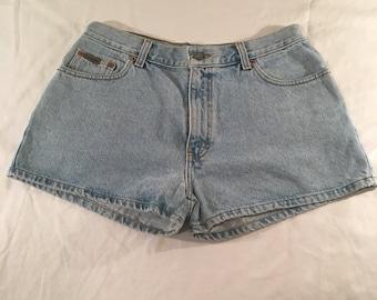 Vintage CALVIN KLEIN 90's High Rise Shorts - Size 13