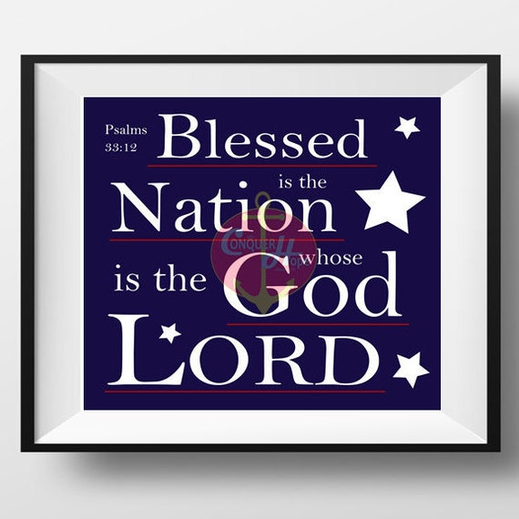 Items similar to patriotic decor kjv bible verse for Best selling home decor etsy