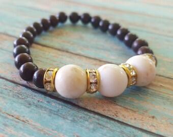 Stackable Bracelet, Stackable bracelets, beaded bracelet
