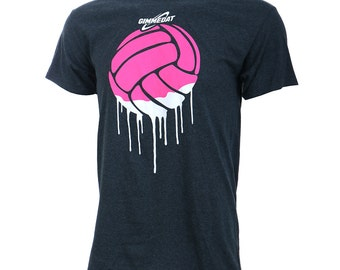 Volleyball Paint Short Sleeve Volleyball T-Shirt, Volleyball Shirts, Volleyball Gift - Free Shipping!