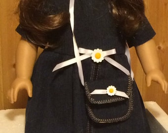 Daisy Dress and Hat for American Girl doll