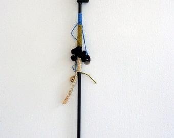 Tsolia wooden decorative wand