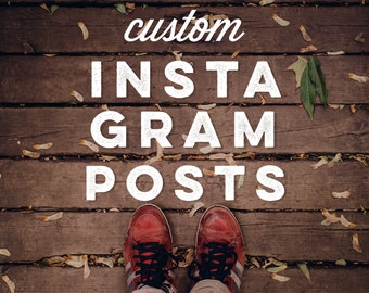 Custom Instagram Posts