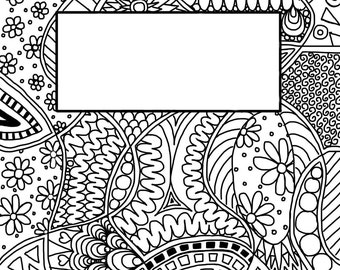 Color it yourself greeting cards