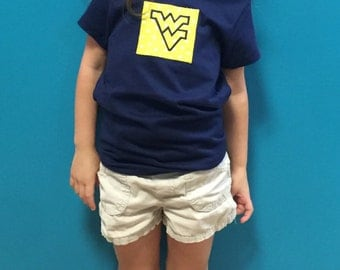 WVU Girls' t-shirt