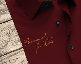 Firefly Inspired Browncoat for Life Embroidery Design File