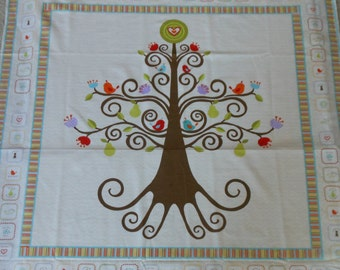 Good Life Tree Panel by Deena Rutter for Riley Blake Designs Pattern P2881