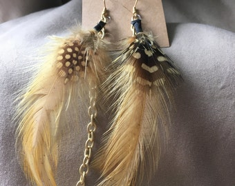Yellow Feather and Chain