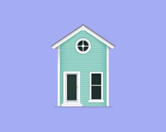 Custom Home Illustration [Digital]