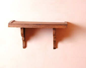 Bohemia/shelf oak/french vintage rustic/shelf