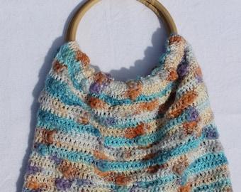 """wonderful crochet handbag """"Summer"""""""