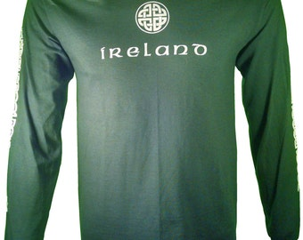 The Legend of the Celts signified by this 100 % cotton long sleeve T-Shirt.