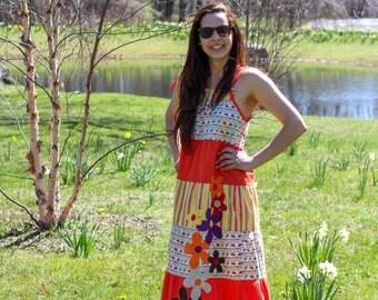 Unique Handmade Adjustable Summer Dress