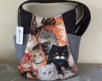 Tote Bag / purse - cats