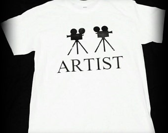 Director t-shirt, Film t-shirt, Videographer t-shirt, camera shirt, film school, film, movie shirt S, M, L, XL