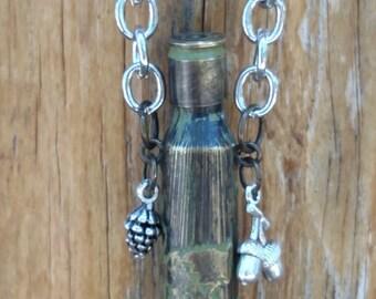Handmade Bullet 7mm  memory necklace.