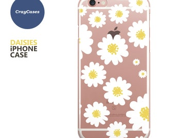 daises iphone 7 case, sunflower iPhone 7 plus case, daises iPhone 6 Plus Case, daises iPhone 6s Plus Case (Shipped From UK)