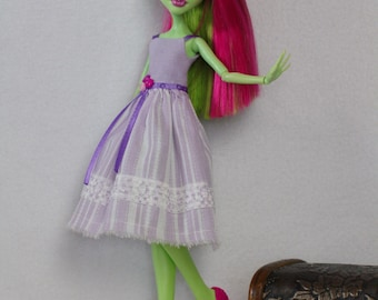 "Monster High clothes - Monster High outfits - EAH outfits - Monster High dress ""Blue berry"""