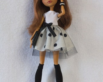"Monster High clothes - Monster High outfits - EAH outfits - Monster High dress ""Peas"""