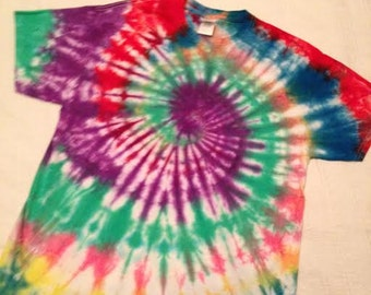 Tie Dyed Tee shirt- Adult L