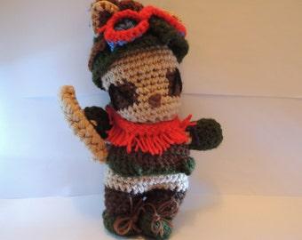 League of legends Teemo amigurumi - handcrafted - High tier yarn