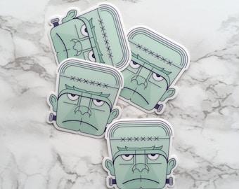 Frankenstein Sticker, Frankenstein Laptop Sticker, Vinyl Sticker, Monster Sticker, Tablet Sticker, Frankenstein Gift