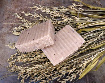 Caledonia, Handmade Soap, Heather, Hot Process, Coconut Free, Soy Free, Almond Free Soap