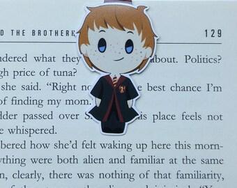 Ron - magnetische Lesezeichen || Harry Potter | Hogwarts | Zauberer | immer | Buch-Liebhaber Geschenke | Lesezeichen | Bücherwurm | magnetische Lesezeichen