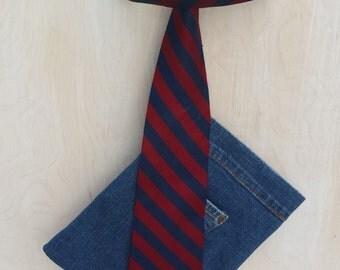 Man Tie Jeans Purse