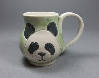 Panda Mug - Green