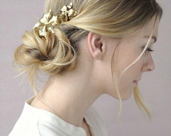 Bridal hair pins - Iris bobby pin pair - Style 662 - Ready to Ship