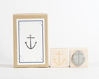 Anchor Rubber Stamp Nautical Sailor Scrapbook Wedding
