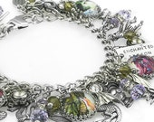 Fantasy Jewelry, Dragon Art, Dragon Bracelet, Fantasy Charms, Fantasy Art Jewelry, Dragon Jewelry