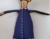 Queen of Hearts stuffed doll Valentine's Day Nursery Rhyme