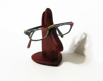 Eyeglass Holder Made Of Padauk Wood