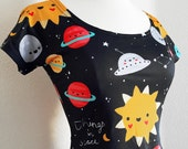 Things in Space Skater Fit and Flare Dress - Size S-3X