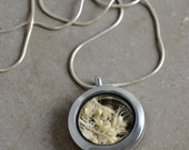 Sterling Silver Glass Locket