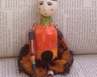 OOAK Halloween art doll