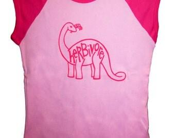 5 DOLLAR SALE: Herbivore Apatosaurus American Apparel Girls Shirt